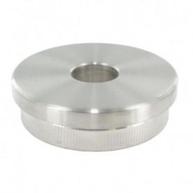 Embout plat à frapper avec trou borgne 12.1 mm