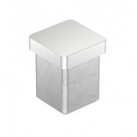 Embout pour tube carré brossé
