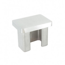 Embout pour tube rectangulaire