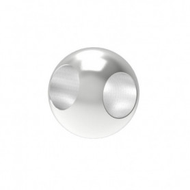 Boule avec 2 trous borgnes à 90°