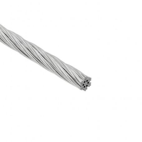Câble flexible 7x7 (7 torons, 7 fils)